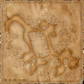 W1 SS Katakumby mapa