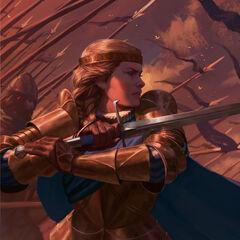 Meve z długim mieczem