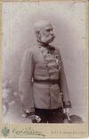 Emperor Francis Joseph as a old man