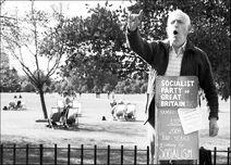 Socialist speakerscorner