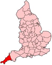 England and Cornwall