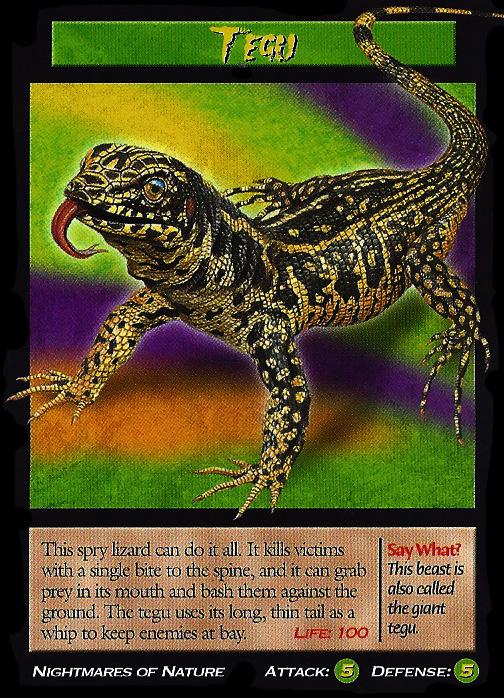 tegu tcg wierd nwild creatures wiki fandom powered by