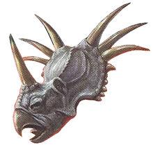 Triceratops Back Image 4