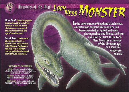 Loch Ness Monster front