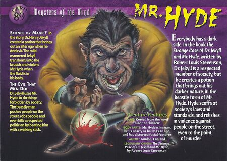 Mr. Hyde front