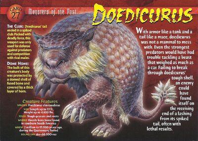 Doedicurus front