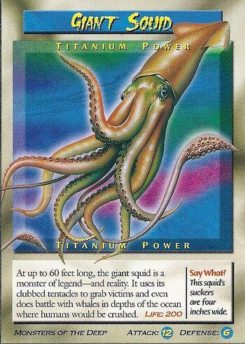 Giant Squid-Titanium