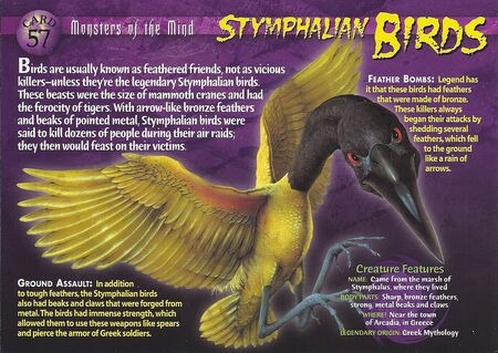 Stymphalian Birds front