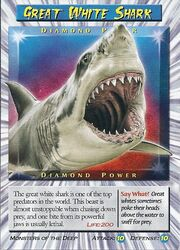 Great White Shark-Diamond