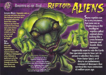 Reptoid Aliens front