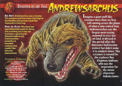 Andrewsarchus front