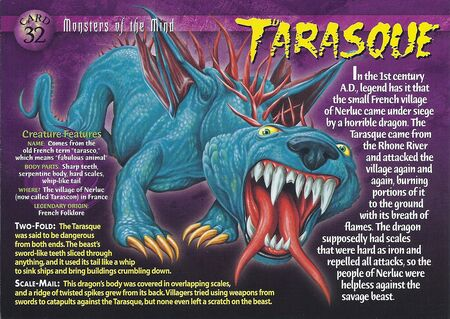 Tarasque front