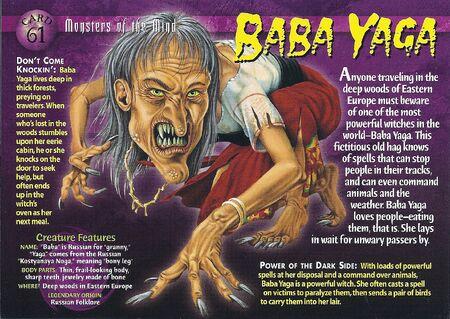 Baba Yaga front