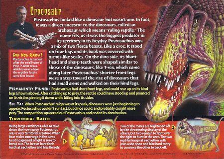 Postosuchus back