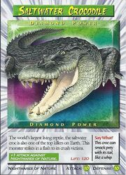 Saltwater Crocodile - Diamond