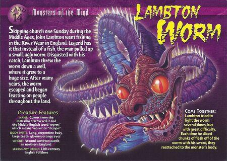 Lambton Worm front