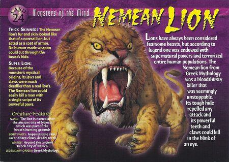 Nemean Lion front
