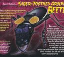 Saber-Toothed Ground Beetle