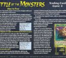 Battle of the Monsters Trading Card Game 4