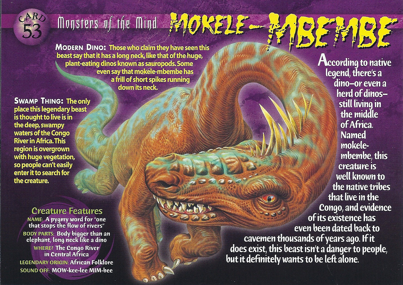 Mokele-Mbembe | Weird n' Wild Creatures Wiki | FANDOM