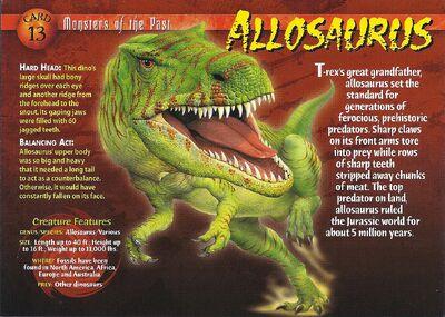 Allosaurus front