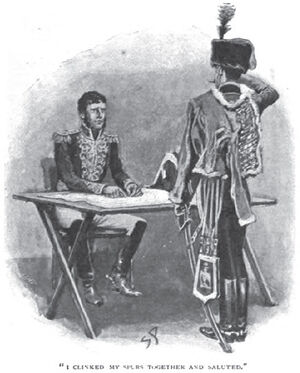'The Crime of the Brigadier' by Sidney Paget 1