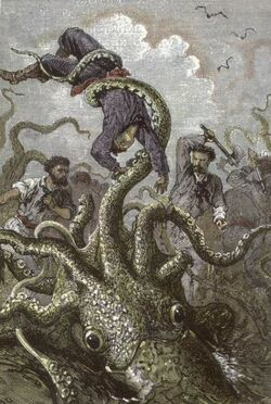 'Twenty Thousand Leagues Under the Sea' by Neuville and Riou 109
