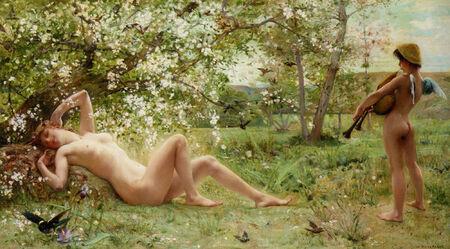 Merson Luc Olivier Awakening Spring