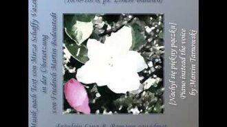 W Tarnowski - Neig o schone Knospe - piano inst. voice