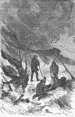 'The English at the Noth Pole' by Riou and Montaut 129