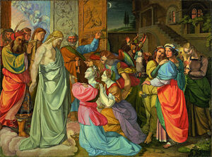 Peter von Cornelius - The Parable of Wise and Foolish Virgins (unfinished) - Google Art Project