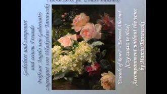 W. Tarnowski - Kennst du die Rosen - accompaniment
