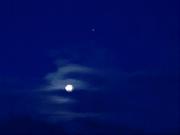 Księżyc zza palców