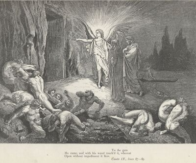 Inferno Canto 9 verses 87-89
