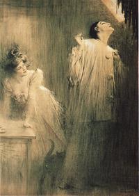 Ch.Leandre PierrotEtColombine