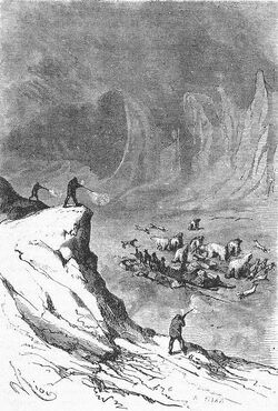 'The English at the Noth Pole' by Riou and Montaut 121