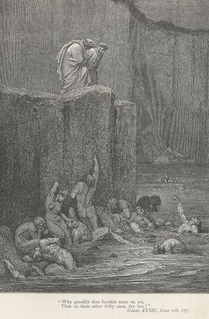 Inferno Canto 18 verses 116-117