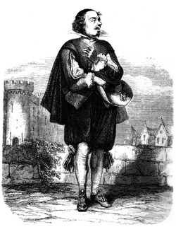 Dumas - Les Trois Mousquetaires - 1849 - page 155 - b&w