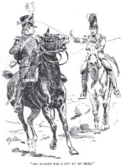 'How the Brigadier Held the King' by William Barnes Wollen 7