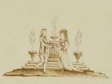 Urszula Tarnowska - Xięga czasu - ilustracja ze str 2 - Małżonkowie