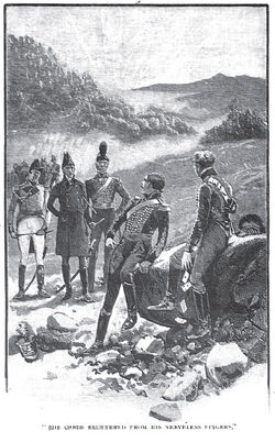 'How the Brigadier Held the King' by William Barnes Wollen 9
