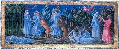 Inf. 01 Le tre fiere, Giovanni di Paolo (c.1403–1483)