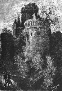 'The Carpathian Castle' by Léon Benett 33