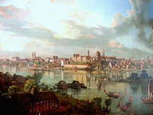 Warsaw by Canaletto