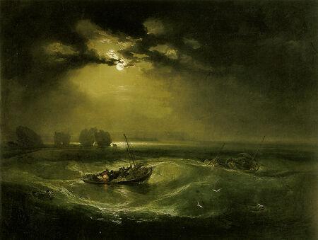 William Turner - Fishermen at Sea