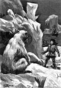 'The Purchase of the North Pole' by George Roux 05