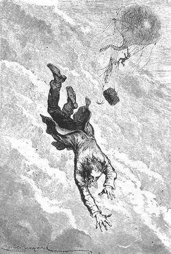 'A Drama in the Air' by Émile Bayard 6