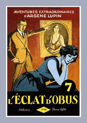L'Éclat d'obus by Maurice Leblanc (book cover, 1923)