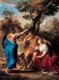 Pompeo batoni - Hercules at the crossroads