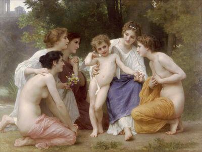 William-Adolphe Bouguereau (1825-1905) - Admiration (1897)